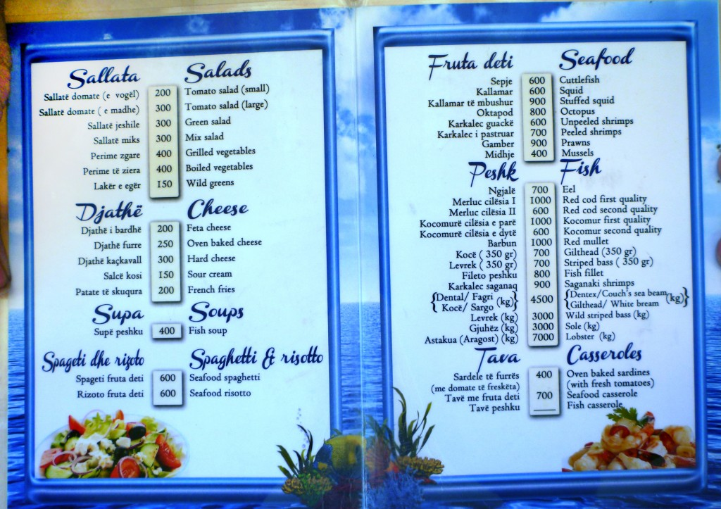 Fresh Pizza Restaurant Menu
