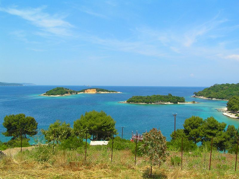 Admirable Ksamil Islands Butrint Info Albania Saranda Web Home Interior And Landscaping Palasignezvosmurscom